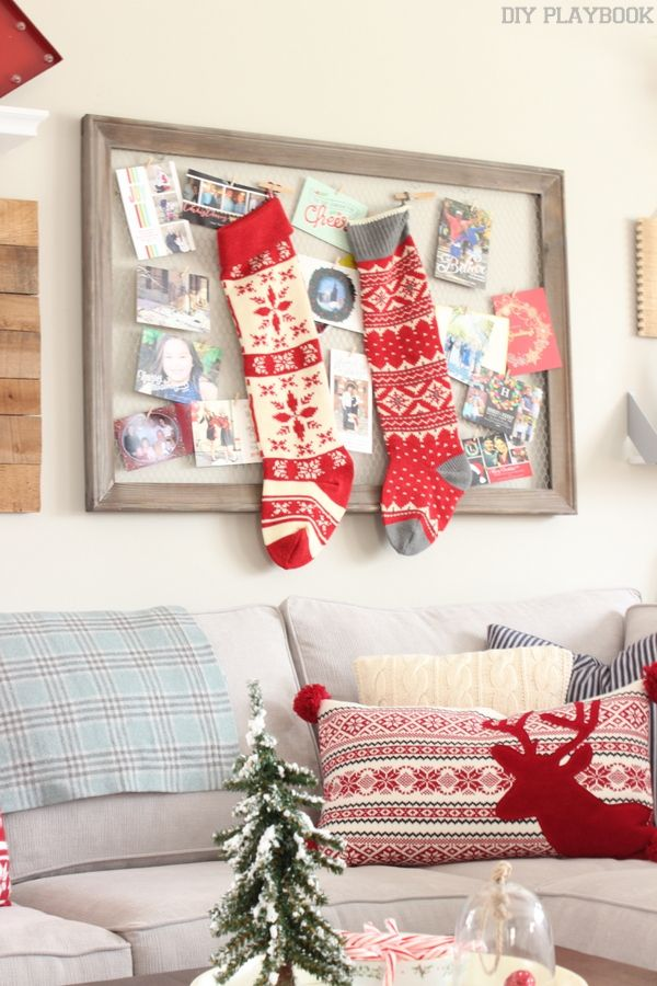 2 Easy Ways To Display Christmas Cards