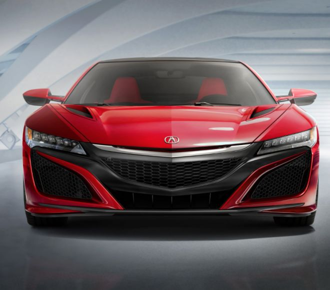 TONY STARK'S ACURA NSX HAS FINALLY ARRIVED AND IT'S FLAT-OUT COOL