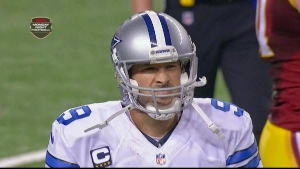 Tony Romo Returned for the Dallas Cowboys But He Shouldn't Have Been Allowed To | FatManWriting