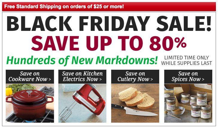 Pin for Later: The Best Black Friday Sales For the Kitchen (Including a Few of Our Top Picks) Chefs Catalog Shop it: Chefs Catalog Black Friday Sale
