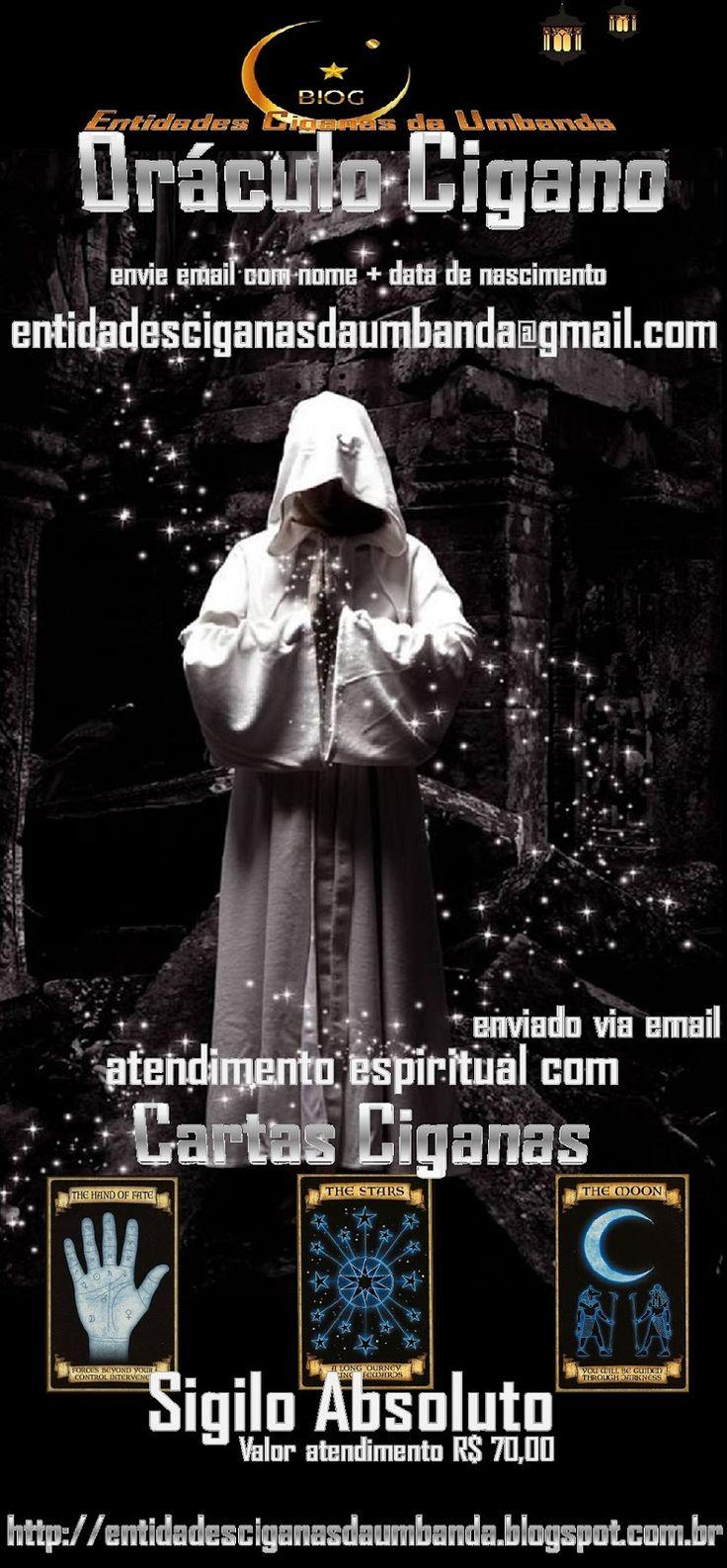 Entidades Ciganas da Umbanda (Clique Aqui) para entrar.: JOGO DO BARALHO CIGANO POR EMAIL - ATENDIMENTO COM...