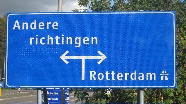 Het enige juiste verkeersbord.