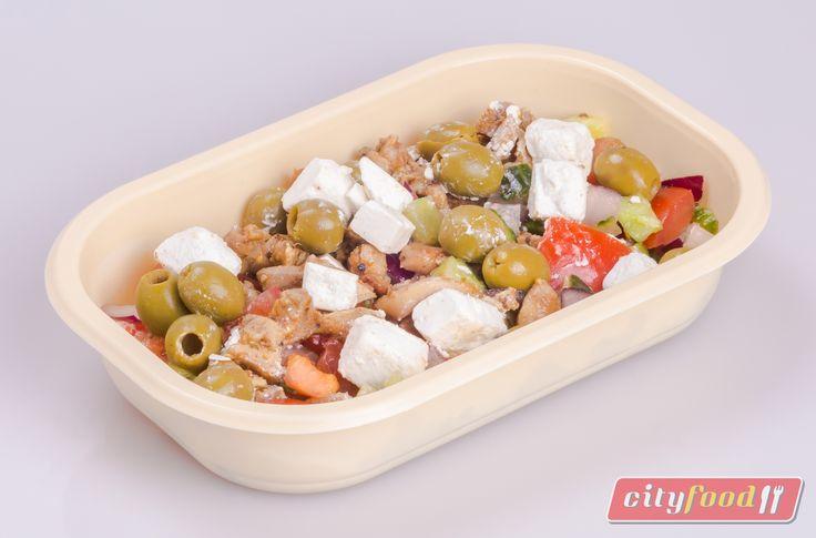 Egy kis ízelítő jövő heti étlapunkról! Csirkegyros görögsalátával.  http://www.cityfood.hu/rendeles?het=201619
