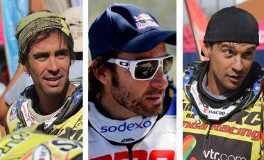 #Dakar2014: Ellos participan en la categoría de motos ¿Cómo se prepararon? ¿Cuáles son sus aspiraciones en esta competencia?
