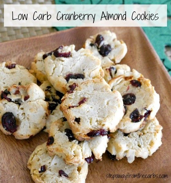 carb cookies diabetic cookies cranberry almond sliced almonds almond ...