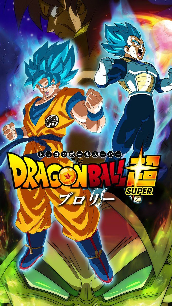 Dragon Ball Super Broly HD Mobile Wallpaper by