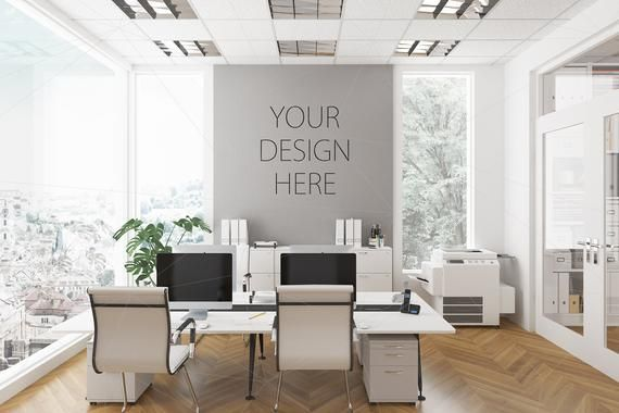 Blank Wall Mockup Interior Mockup Office Workplace Workspace Etsy Mockup Free Psd Cleaning Walls Free Psd Mockups Templates
