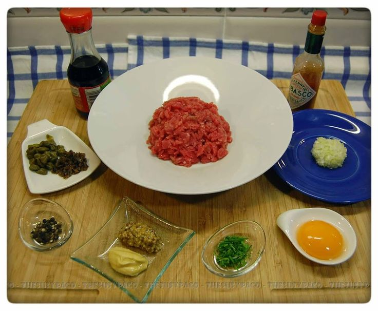 Steak Tartare ~ Filete Tártaro | Cocina