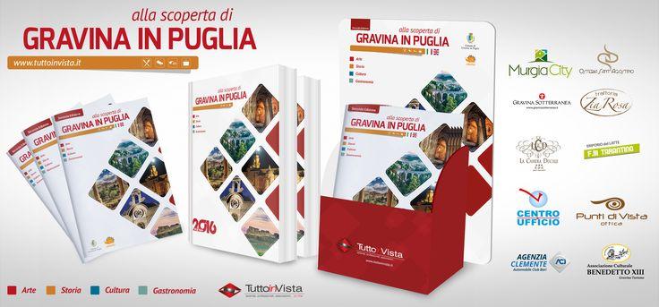 """La seconda edizione della guida turistica """"alla scoperta di Gravina in Puglia"""" è pronta! A Gravina la puoi trovare presso tutte le attività che hanno collaborato alla realizzazione."""