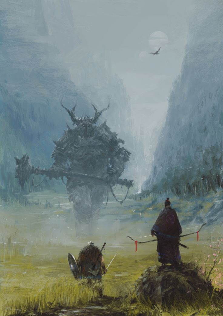 brothers in arms - meeting with a warlord, Jakub Rozalski on ArtStation at http://www.artstation.com/artwork/brothers-in-arms-meeting-with-a-warlord