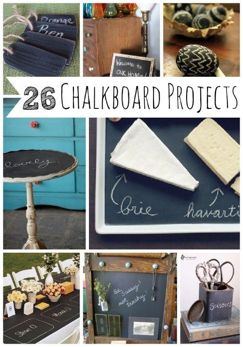 26 Charming Chalkboard Project Ideas   MyBlessedLife.net