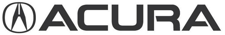 El logo de Acura es una A estilizada que asemeja las pinzas (callipers) que un ingeniero utiliza en el proceso de diseño de un automóvil. Es realmente agradable y tambié denota una marca de ingeniería precisa y diseño pensado. Por otro lado también es similar al Logo de Honda, siendo la A, con borde superior abierto, similar a la H de Honda, como una flecha que apunta hacia arriba, símbolizando en avance, crecimiento, innovación, y mejora.
