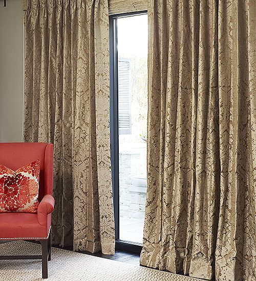 hand made chateau damask drapes and roman blinds on sale drapestyle