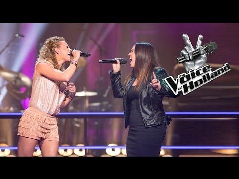 Elise de Koning vs. Fabiënne Lantinga – Titanium (The Battle | The voice of Holland 2015) - YouTube