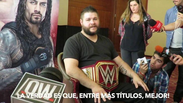 ENTREVISTA A LUCHADORES!!!   WWE SANTIAGO #1