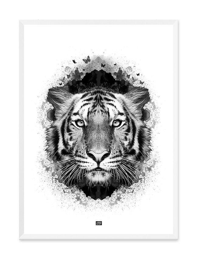 Tiger III Print - Wall Art