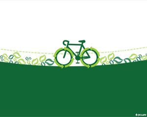 Cycle to Work PowerPoint template is a free green transportation PowerPoint template that you can use for example to take care of environment but also in relation to cycle scheme