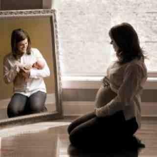 great idea for maternity photos