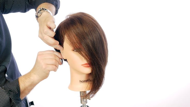 Haircut Tutorial - EXTREME Angled Bob - TheSalonGuy