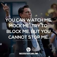 Bildergebnis für The Wolf of Wall Street quotes ------- Leren beleggen in Binaire Opties: http://www.binoptie.nl