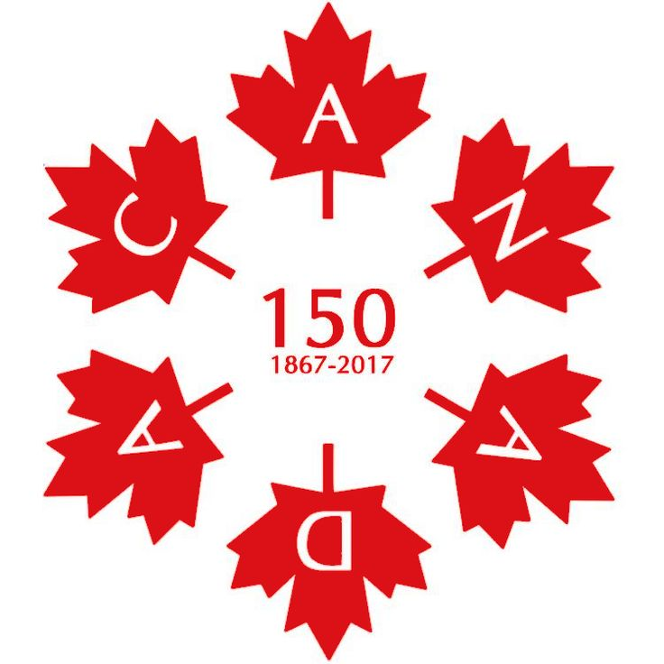 Next year we will be celebrating Canada's 150th birthday. To mark the occasion I created this design a couple of years ago. It consists of 6 official maple leafs (same ones as on the Canadian flag), spelling out C A N A D A. Interestingly enough, each maple leaf consists of 25 sides, or 150 sides total!