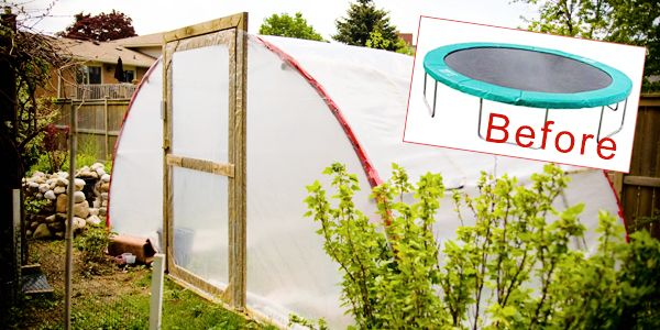 Turn a Trampoline Into a Greenhouse! | How Does She...