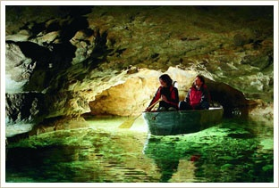 Lake cave in Tapolca - Discovered in 1902, Hungary.