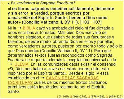 DENIS STELLA BAQUERO MILLÁN: ¿Es verdadera la Sagrada Escritura?