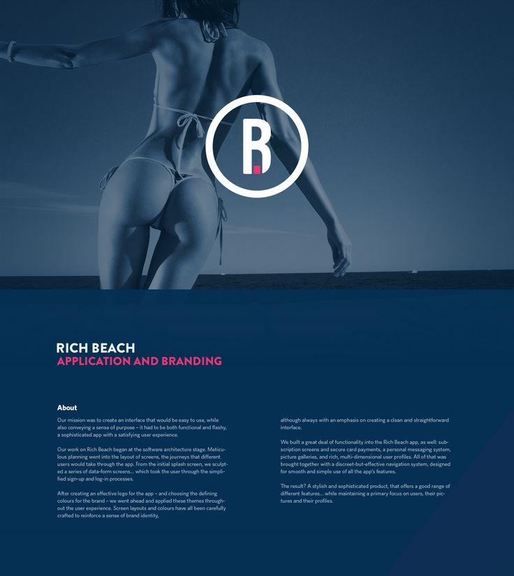 Rich Beach App on Behance