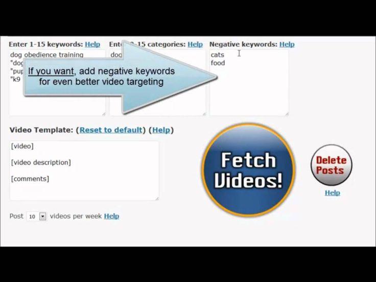 Autoposting Wordpress Youtube Plugin, via YouTube.