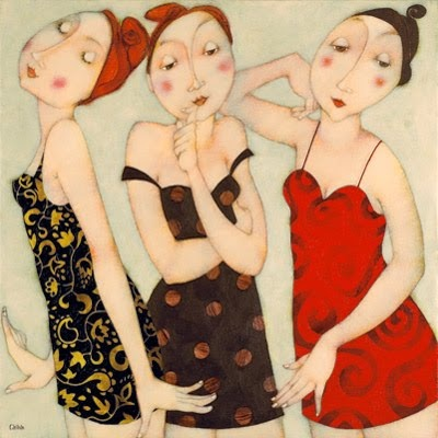 Cecile Veilhan and Her Women