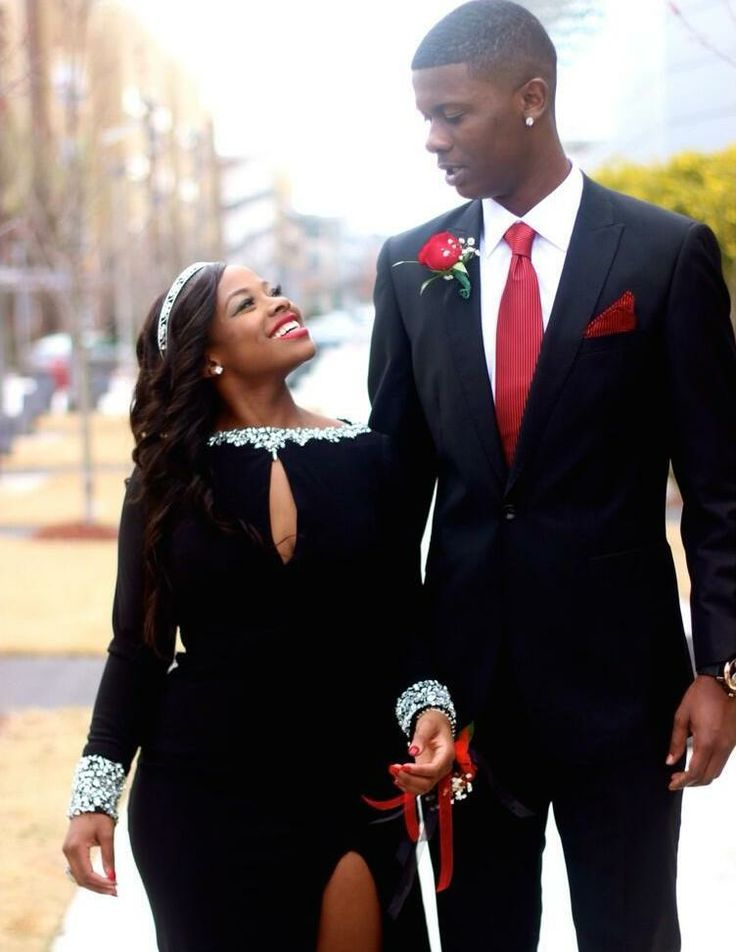 cute black couples prom - Google Search