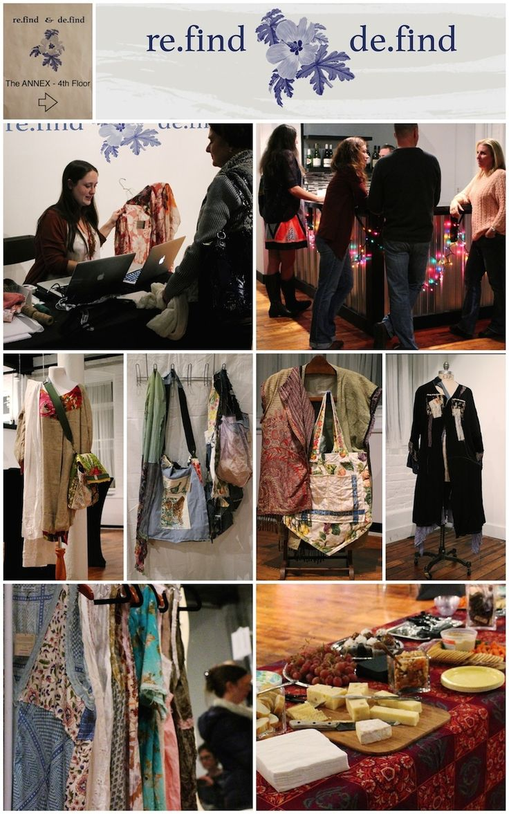 It was a great launch of re.find & de.find fashions at the ANNEX Studio! @refinddefind