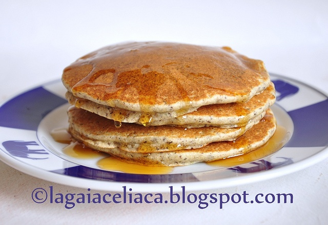 pancakes senza glutine                     #recipe #juliesoissons