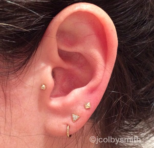 Multiple Ear Piercings: 30 Cool Combinations toCopy | StyleCaster