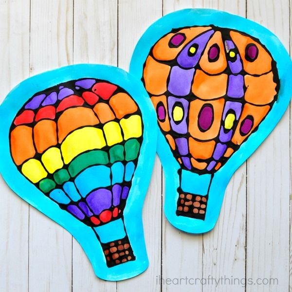 Best 25 hot air balloon craft for kids ideas on pinterest for Balloon art project