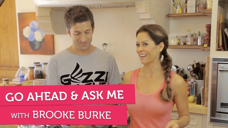 Brooke Burke on Giving Kids Chores - Go Ahead & Ask Me