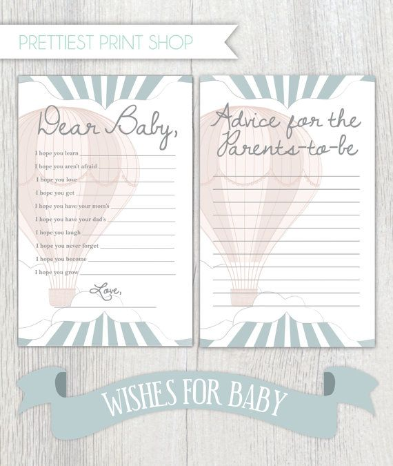 Printable Baby Shower Sheets