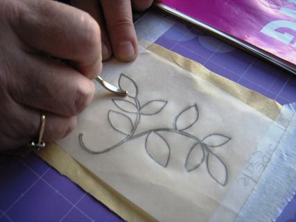 'How to transfer an embroidery design' · Needlework News | CraftGossip.com