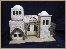 Resultado de imagen para casas artesanales para belenes