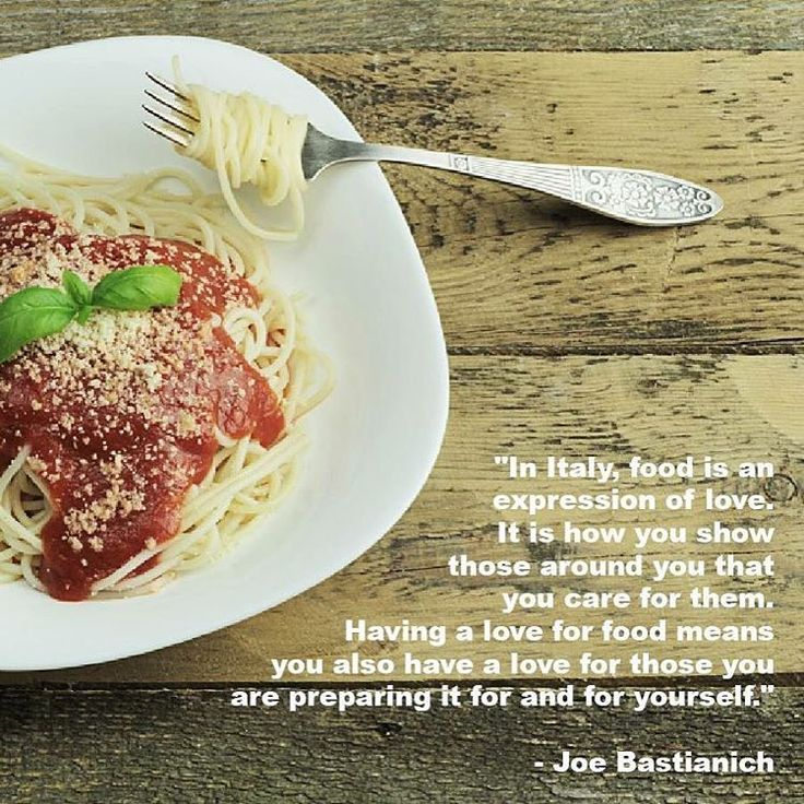 """""""In Italy, food is an expression of love. It is how you show those around you that you care for them. Having a love for food means you also have a love for those you are preparing it for and for yourself."""" - Joe Bastianich // renatevillas.com"""