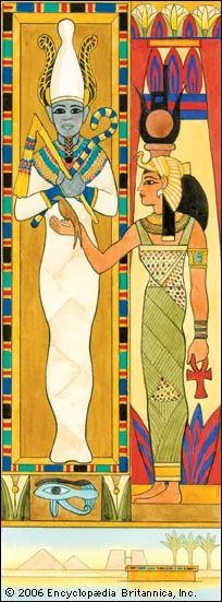 Osiris: Isis and Osiris [Credit: Judie Anderson/EB Inc.]