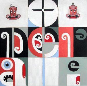"""Onerahi"" - by Andrea Hopkins | ©AEH2010 #maori #art #maoriart"