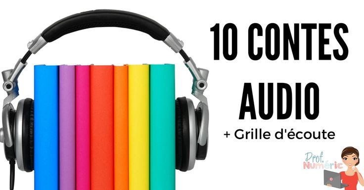 Prof Numéric: 10 Contes pour enfants à écouter
