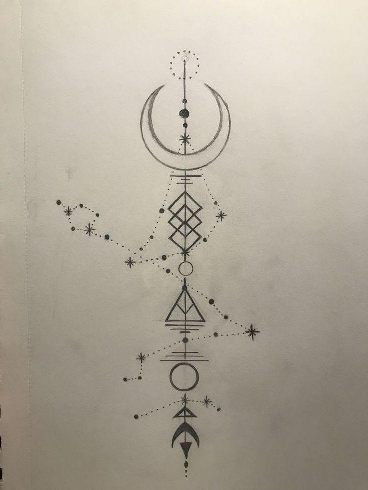 So etwas wäre ordentlich, aber mit meinem und Zak's Sternzeichen (Wassermann-Konstellation) im Hintergrund – Art