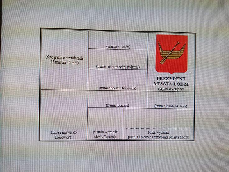 KOMUNIKAT - wprowadzenia identyfikatorów w taksówkach