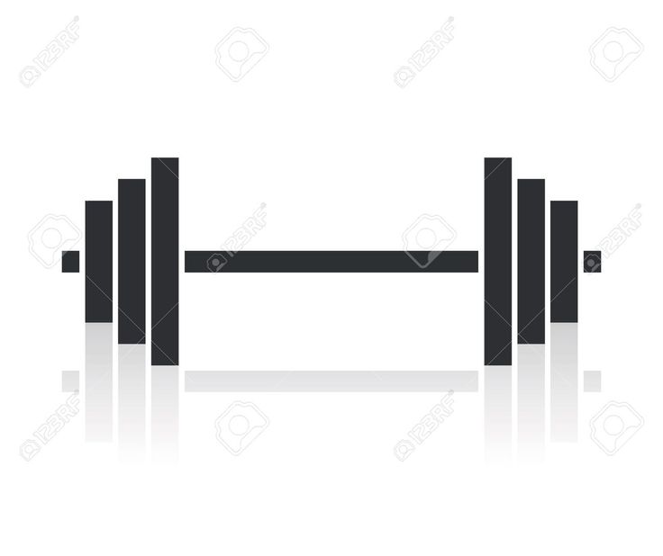 18661650 dumbbell weights symbol stock vector barbell 1300 1092 tattoo pinterest. Black Bedroom Furniture Sets. Home Design Ideas