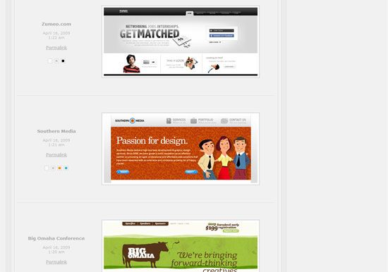 Top 10 Web Design Galleries for Your Inspiration