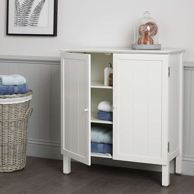 John Lewis & Partners St Ives Double Towel Cupboard ...