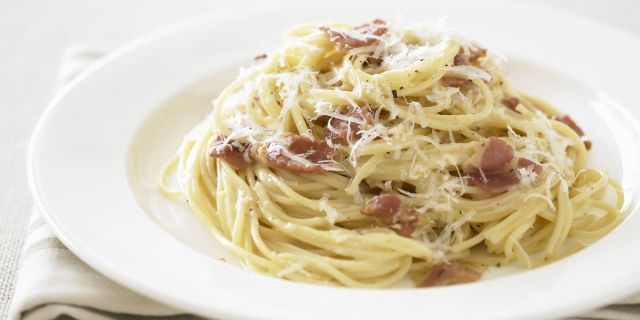 Carbonara Recipe by Rachel Ray - Easy Pasta Carbonara